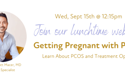 Getting Pregnant with PCOS Webinar